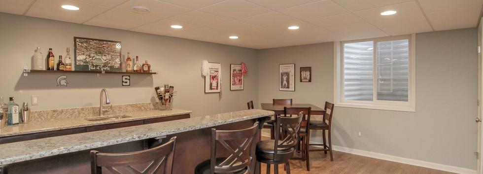 Basement Kitchen - Easton, CT