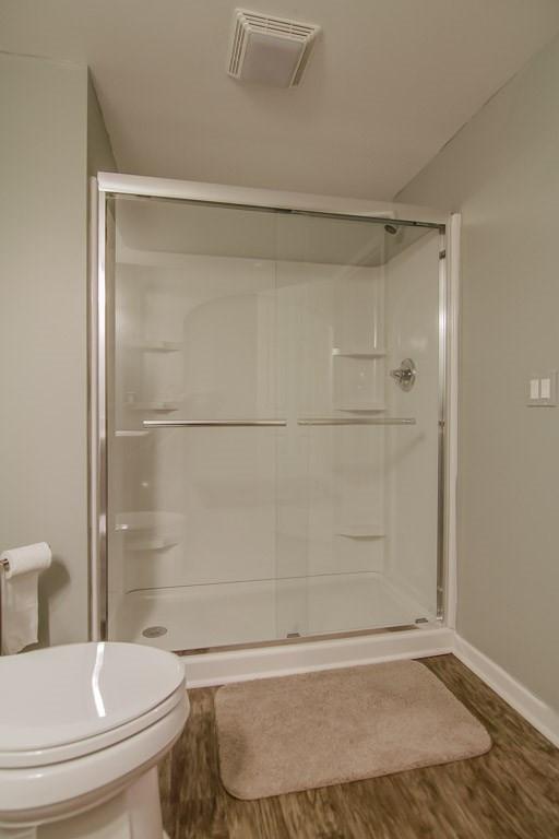 Basement Shower - Easton, CT