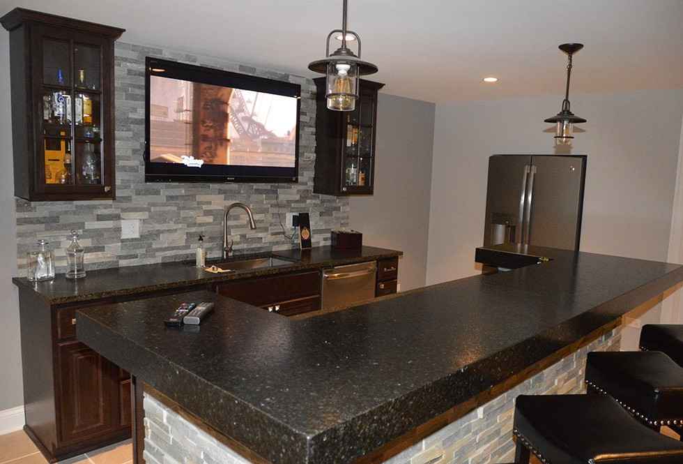 Basement Kitchen - Wilton, CT