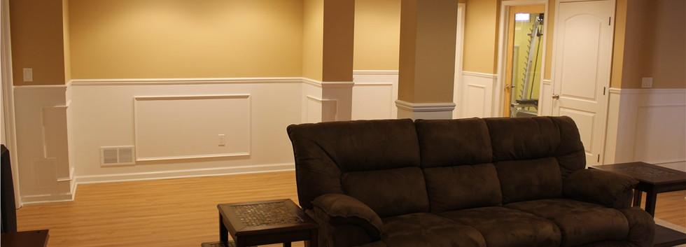 Basement TV Room - Norwalk, CT
