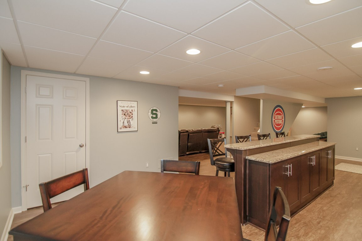 Basement Kitchen + Bathroom entrance - Easton, CT