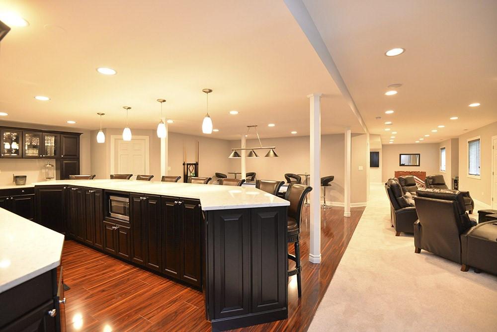 Basement Kitchen - New Canaan, CT