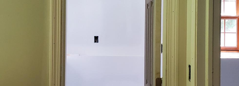 Basement Bathroom entrance - Shelton, CT