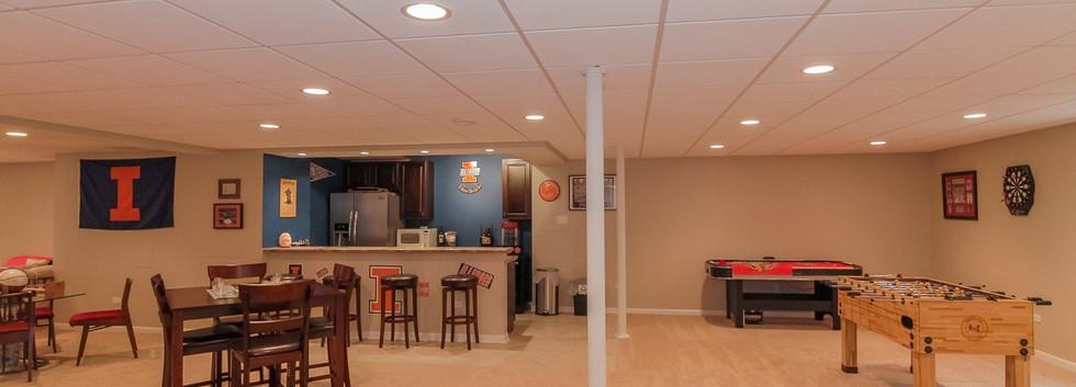 Basement Kitchen + Play Room - Westport, CT
