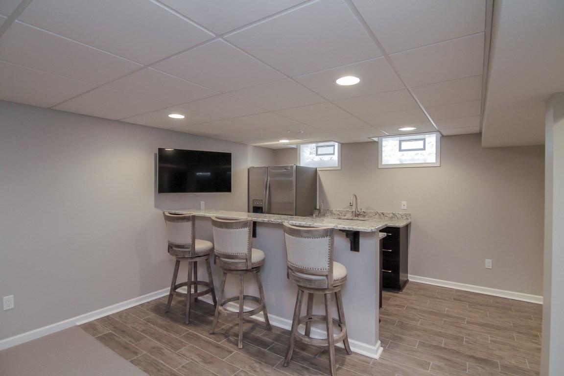 Basement Kitchen - Newtown, CT