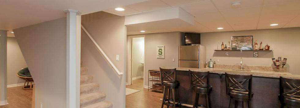 Basement Entrance + Kitchen - Easton, CT