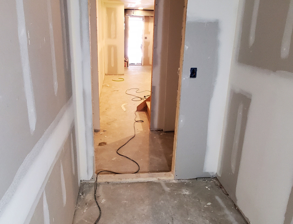 Basement Access Panel Area - Shelton, CT
