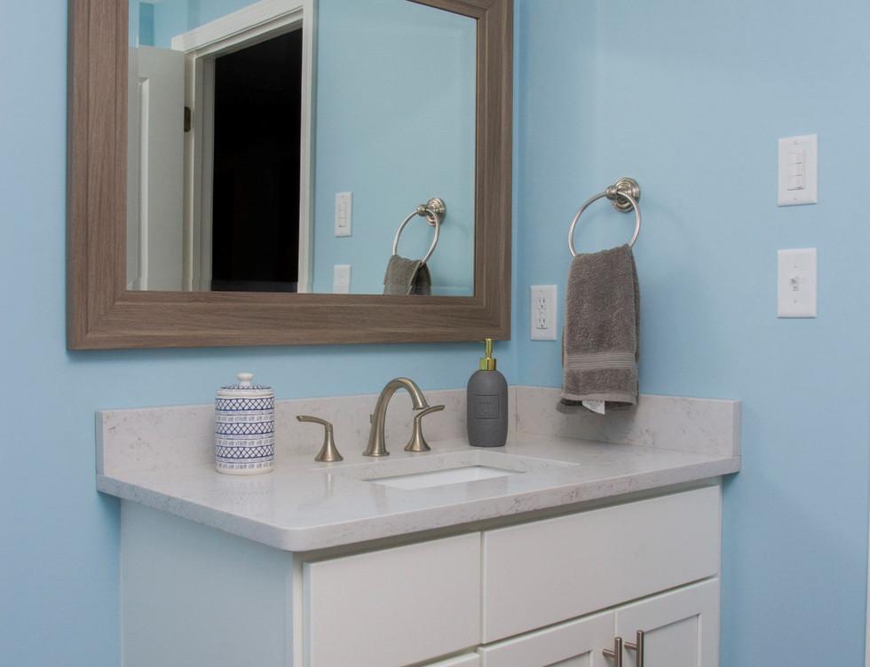 Bathroom Vanity Basement - Rye, NY