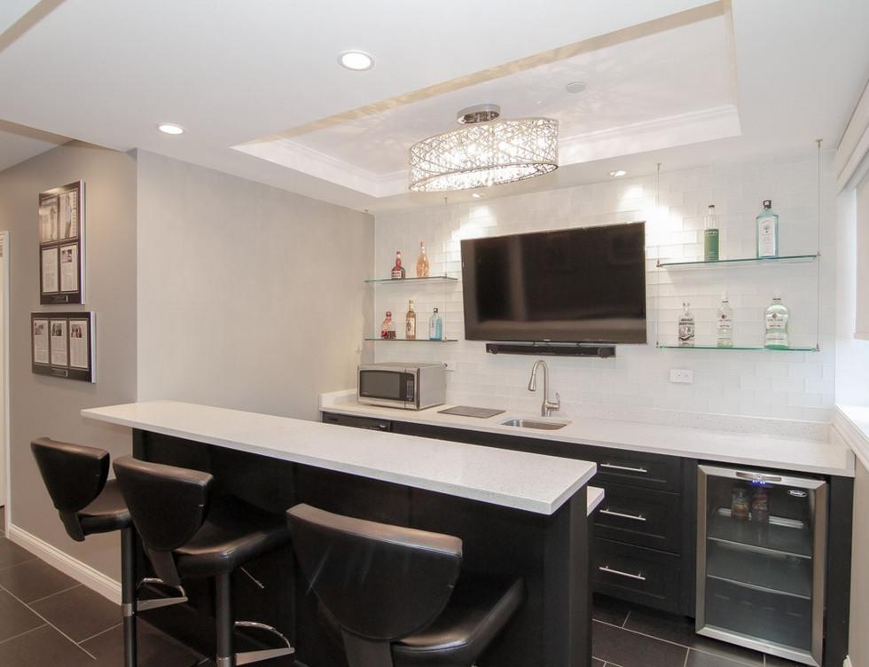 Basement Kitchen - Greenwich, CT