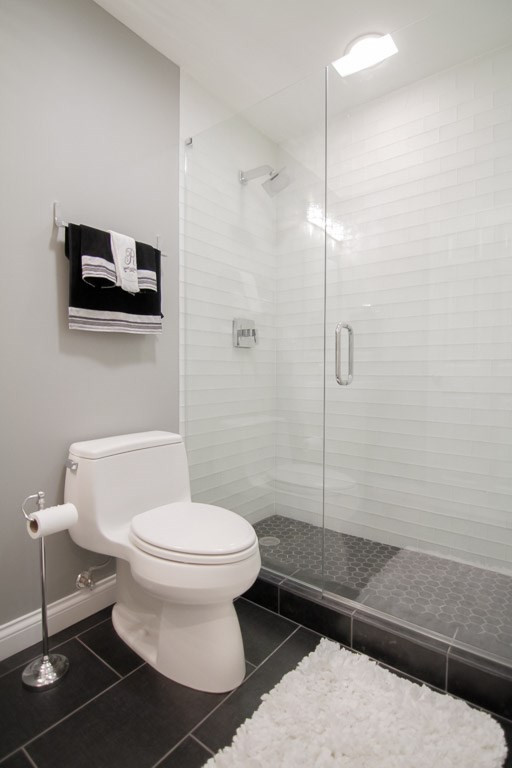 Basement Shower - Greenwich, CT