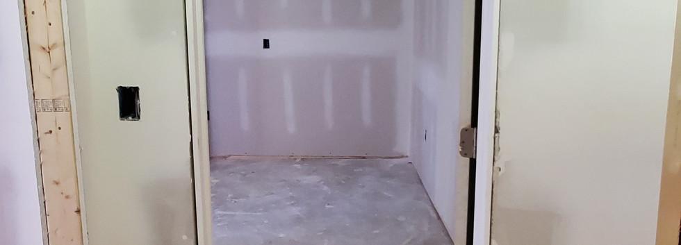 Basement Bedroom Entrance - Shelton, CT