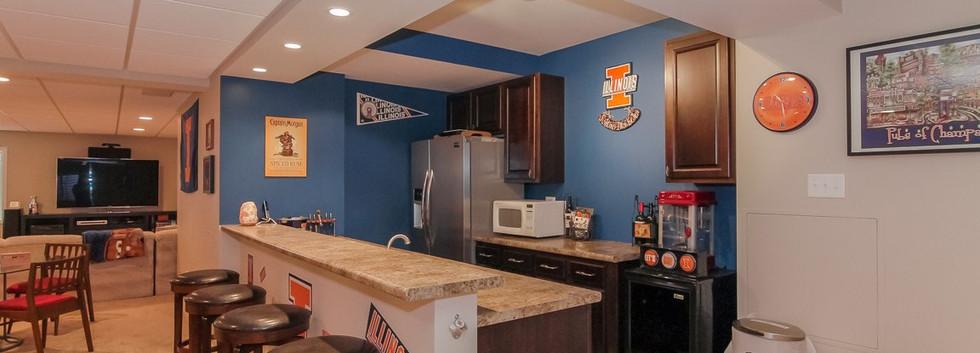 Basement Kitchen - Westport, CT