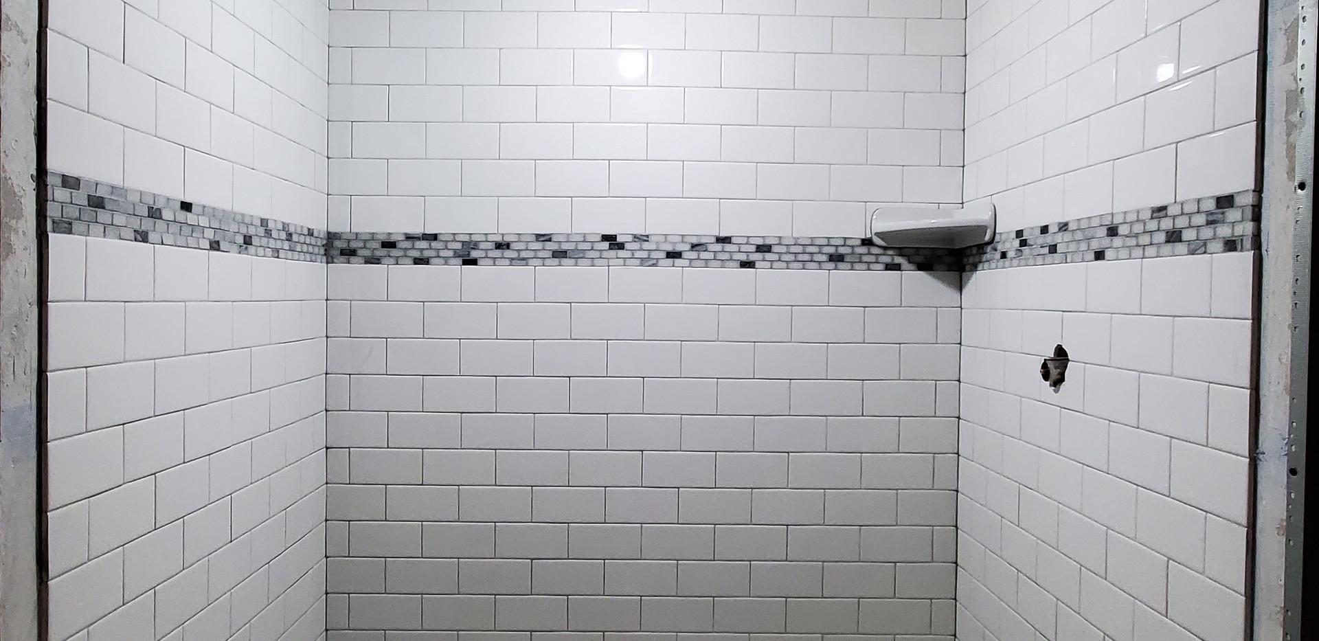 Basement Shower - Shelton, CT
