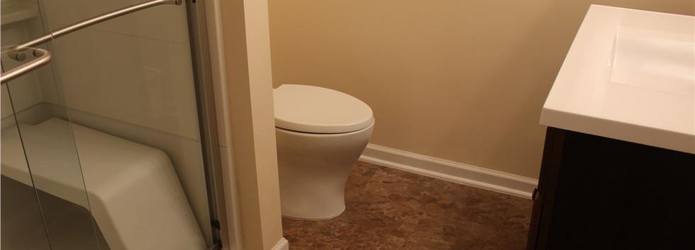 Basement Bathroom - Norwalk, CT