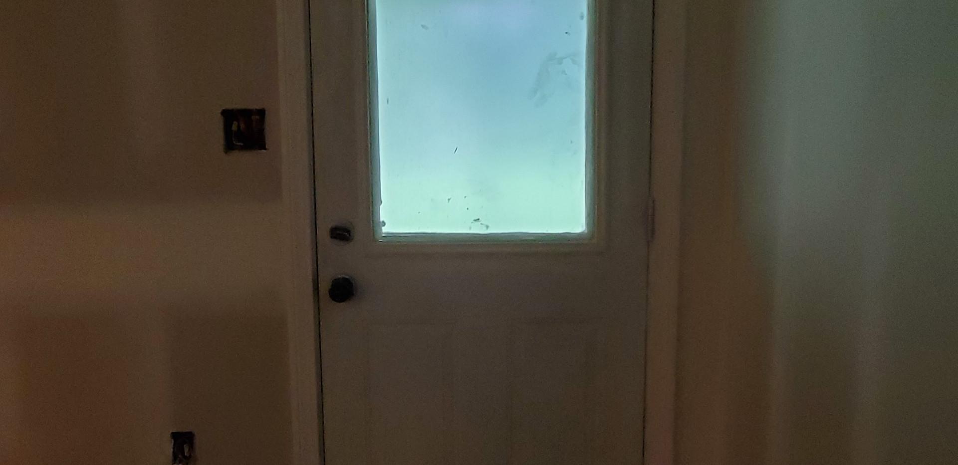 Basement Exterior Door - Shelton, CT