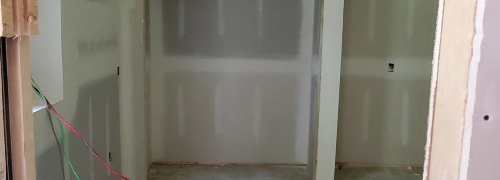 Basement Bedroom Closet - Shelton, CT