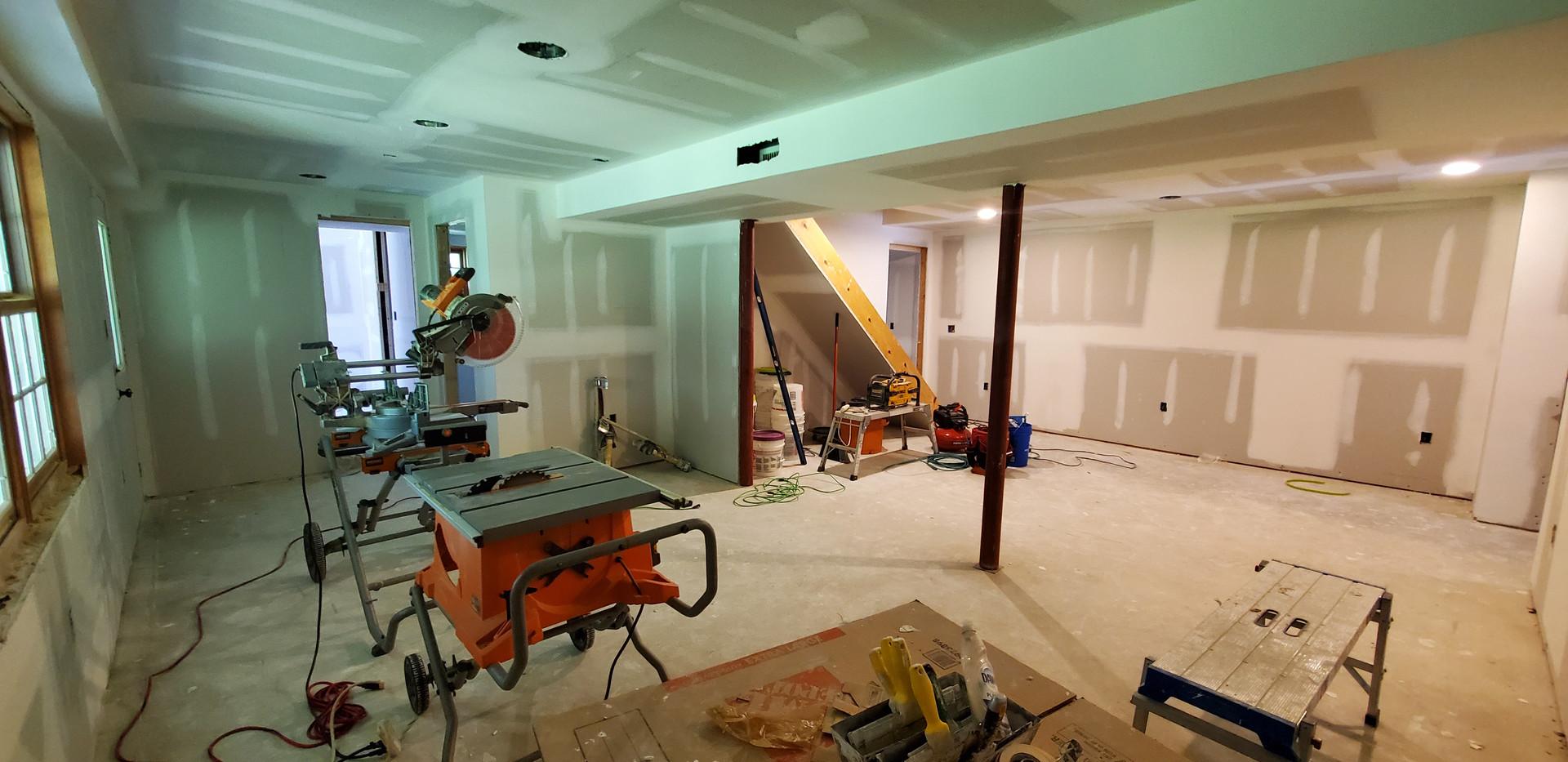 Basement Social Area - Shelton, CT