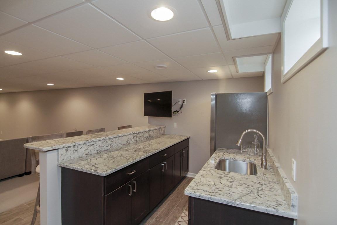 Basement Kitchen Cabinets - Newtown, CT