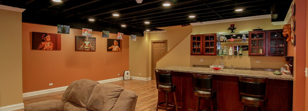 Basement Kitchen - Redding, CT