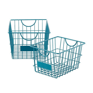 Blue Wire Baskets