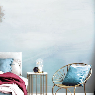 Temporary Ombre Wallcovering