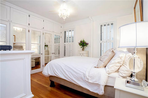 Julie Schuster Design Studio - Staged For Sale: Traditional Elegance - Master Bedroom