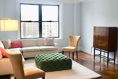 Julie Schuster Design Studio - Home Staging: Upper West Side Pre-war Estate Home