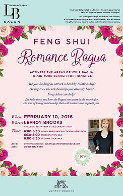 Lefroy Brooks features Feng Shui Romance Bagua with Julie Schuster