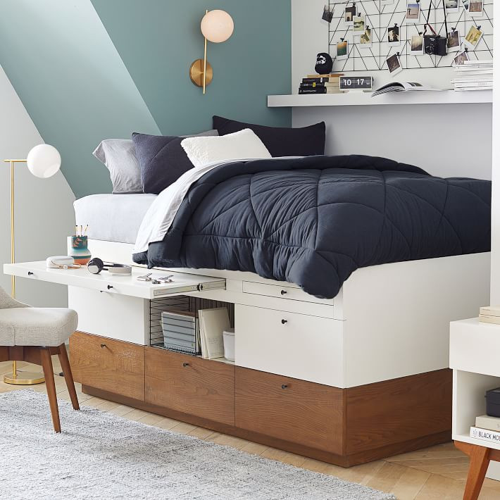 west elm x pbt Modern Captain's Bed