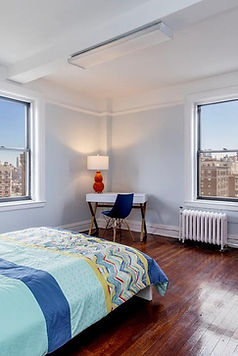 Julie Schuster Design Studio - Staged For Sale: Brooklyn Aerie - Guest Bedroom