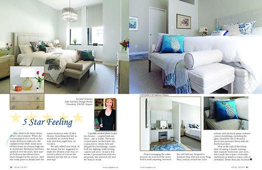 HOUSE MAGAZINE features Julie Schuster Design Studio