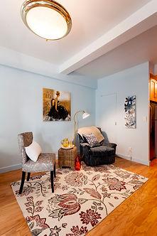 Julie Schuster Design Studio - Staged For Sale: Mid-Century Pied-A-Terre