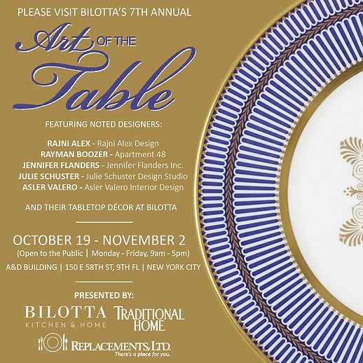 Bilotta Art of the Table with Julie Schuster Design Studio