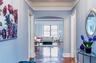 Home Staging: Staged for Sale -- Upper West Side Pre-War Estate Home