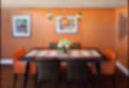 Kitchen & Dining Room interiors designed by Julie Schuster Design Studio