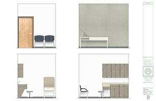 medical office design - Rendering: Exam Room