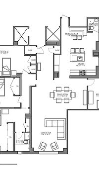 Julie Schuster Design Studio - Staged For Sale: Altenate Renovation Floor Plans