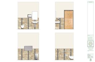 medical office design - Rendering: Bathroom