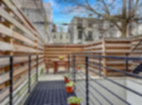 Julie Schuster Design Studio - Staged For Sale: Park Slope Condo Roof Deck