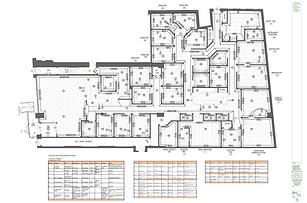 Julie Schuster Design Studio medical office design - Rendered Floor Plan