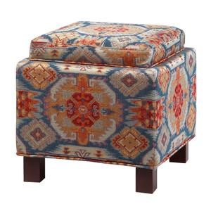 Boho Chic Storage Ottoman