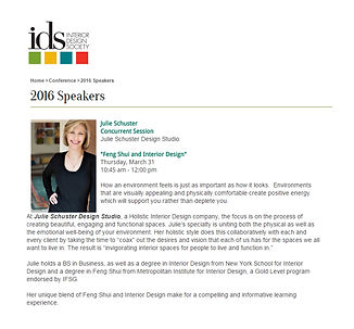 IDS 2016 National Conference - Featured Speakers Julie Schuster