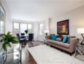Julie Schuster Design Studio - Staged For Sale: Sleek Contemporary - Living Room
