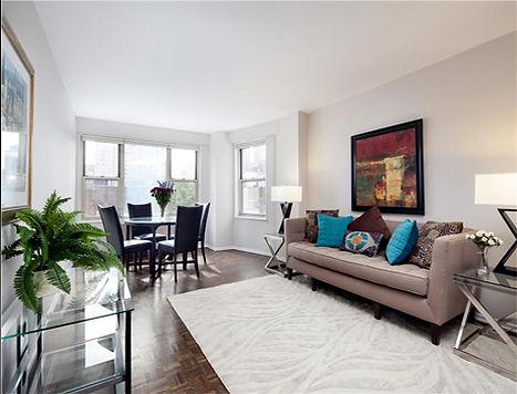Julie Schuster Design Studio - Staged For Sale: Sleek Contemporary - Living Room
