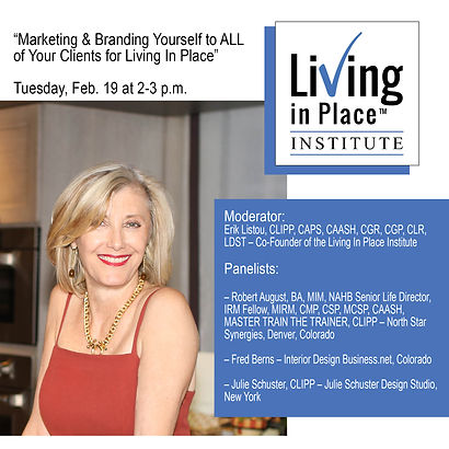 Living In Place - Speaking Engagement.jp