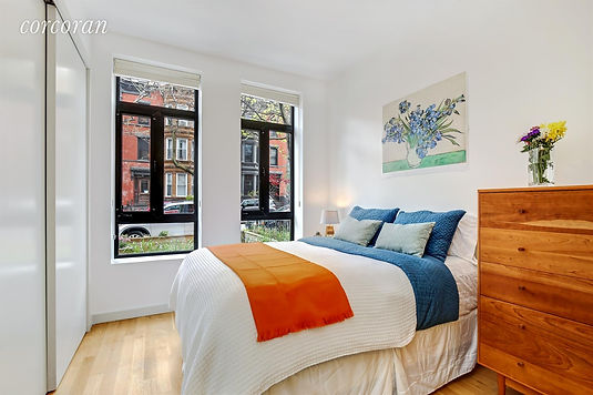 Julie Schuster Design Studio - Home Staging: Park Slope Condo Bedroom