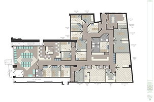 medical office design - Rendering: Floor Plan