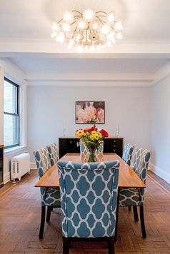 Julie Schuster Design Studio - Staged For Sale: Upper West Side Pre-war Estate Home