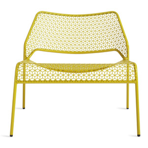 Hot Mesh Lounge Yellow Chair