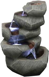 5-Tier Stone Fountain